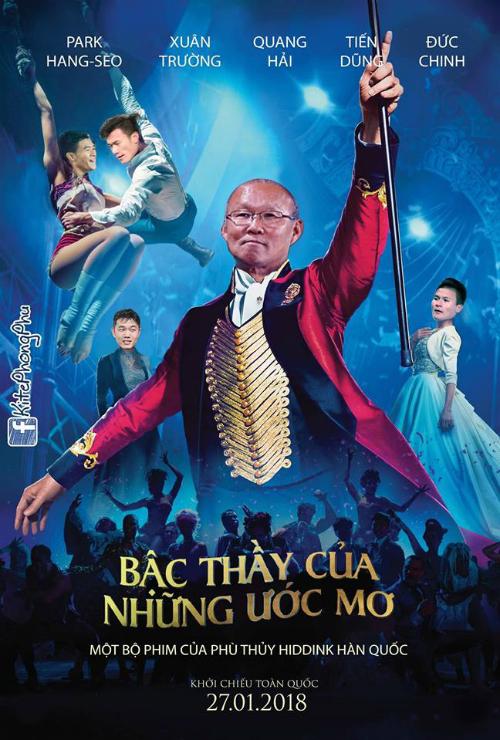 Câu chuyện cổ tích của bóng đá Việt Nam.