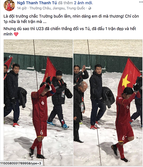 Thanh Tú gây hờn vì bức ảnh chụp chung cùng U23 Việt Nam sau chung kết - 5