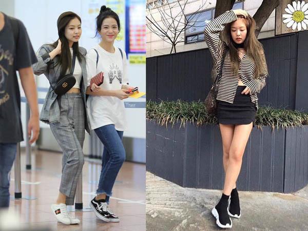 Không cần giày cao gót, 5 mỹ nhân Hàn đi sneakers đã đủ sang chảnh