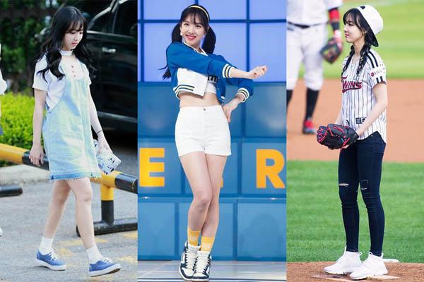 Không cần giày cao gót, 5 mỹ nhân Hàn đi sneakers đã đủ sang chảnh - 6
