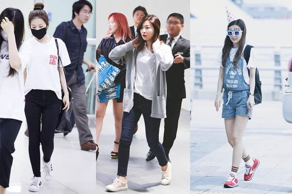 Không cần giày cao gót, 5 mỹ nhân Hàn đi sneakers đã đủ sang chảnh - 9