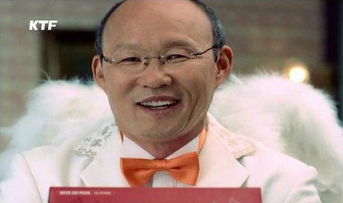 Bố già Park Hang Seo từng đóng quảng cáo với Moon Geun Young