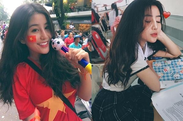 Những bạn trẻ bất ngờ nổi tiếng nhờ U23 Việt Nam - 3