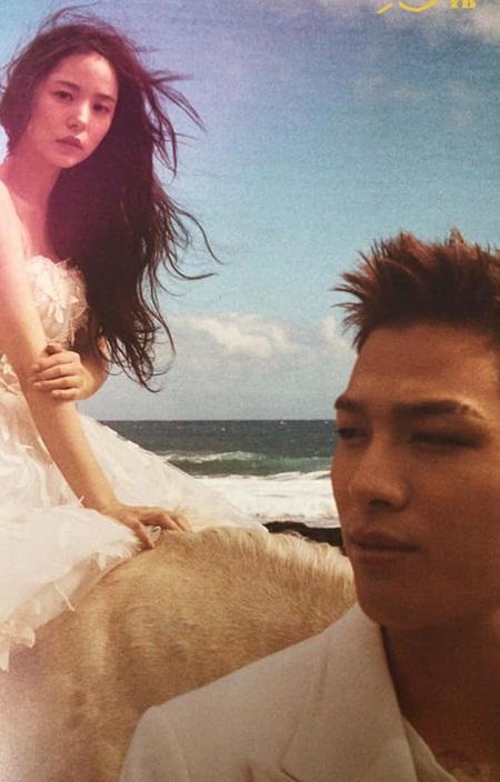 Min Hyo Rin - Tae Yang tung ảnh cưới, khoe nhẫn đắt đỏ - 4