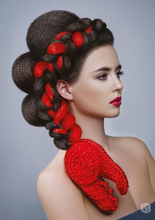 Những kiểu tóc độc đáo lấy cảm hứng từ 12 cung hoàng đạo - 3