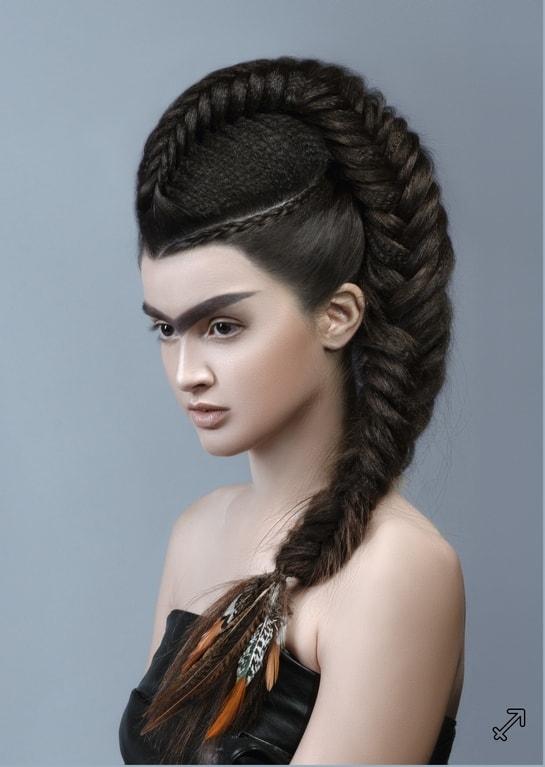 Những kiểu tóc độc đáo lấy cảm hứng từ 12 cung hoàng đạo - 8