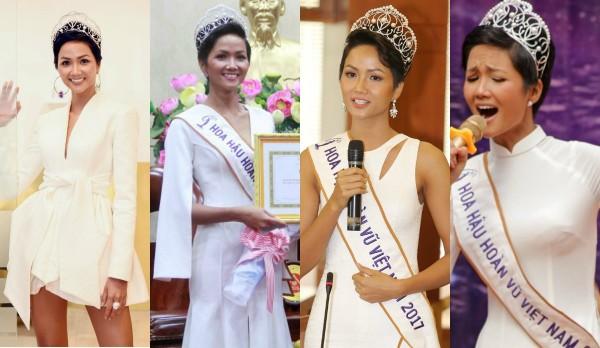 Hoa hậu HHen Niê đóng khung hình ảnh sau 1 tháng đăng quang - 4