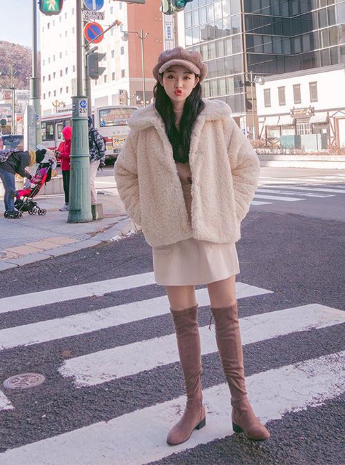 Mốt áo chăn bông vừa ấm vừa sành điệu ăn đứt áo phao - 7