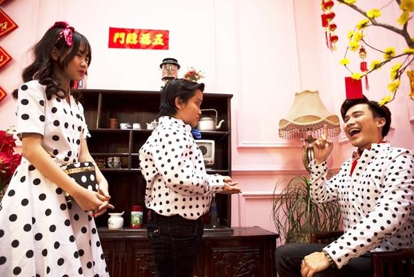 Cô bé triệu view Bảo An tung MV Tết rộn ràng cùng thầy Chí Thiện - 2