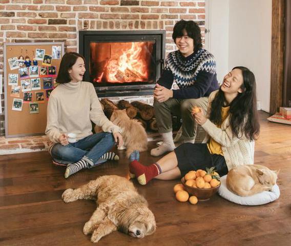 Yoon Ah vui vẻ, thoải mái bên vợ chồng Hyo Ri.