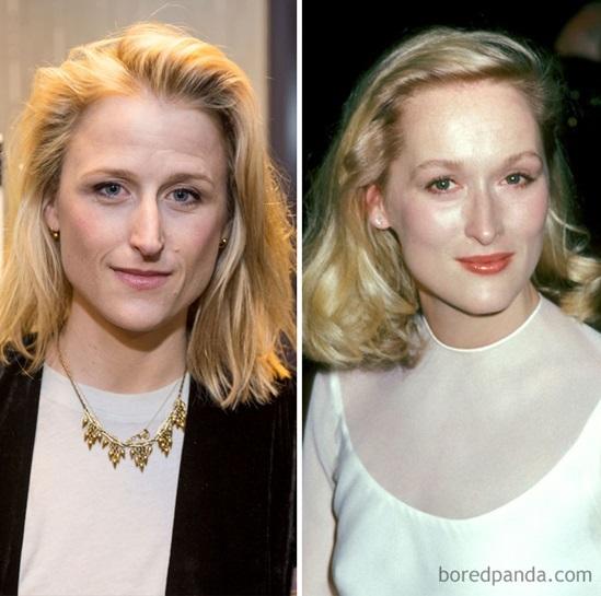 Mamie Gunner và Meryl Streep khi 30 tuổi.