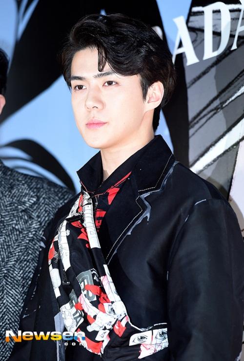 Se Hun có nét đẹp giống người lai, anh chàng luôn được các thương hiệu quốc tế săn đón.