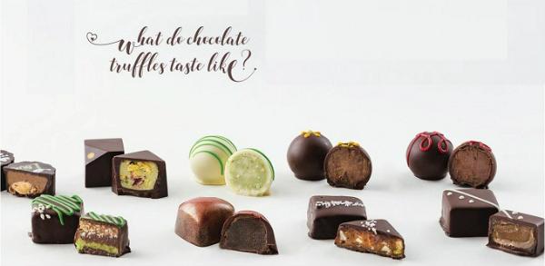 Những chocolate tươi cho mùa Valentine năm nay.