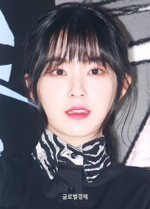 Trưởng nhóm Red Velvet sở hữu làn da trắng, gương mặt được các bác sĩ phẫu thuật thẩm mỹ công nhận là có tỉ lệ vàng.
