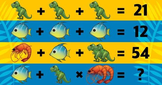 Bạn có thể vượt qua bài test Toán học này không? (2)