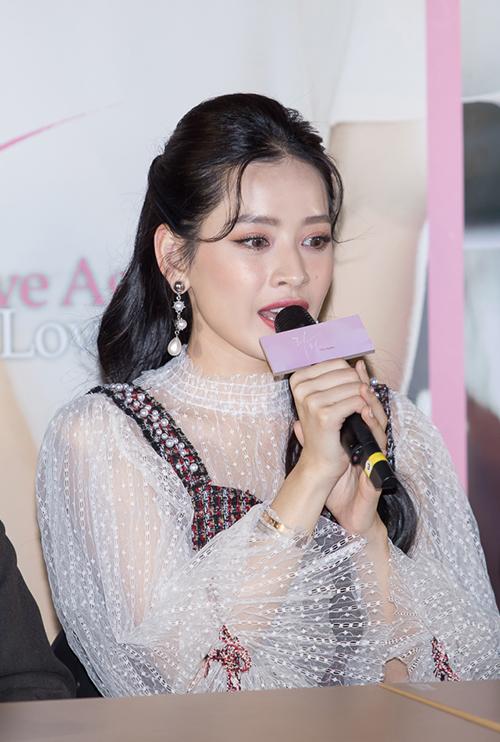 Chi Pu xinh đẹp thu hút truyền thông khi ra mắt phim tại Hàn Quốc - 5