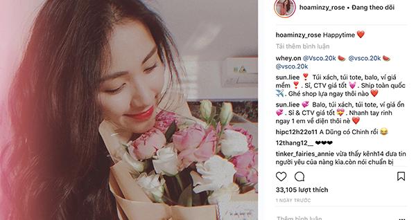Hòa Minzy để lộ hình ảnh tình tứ với bạn trai mới - 2