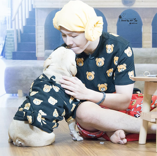 Chú cún cưng được Khởi My - Kelvin Khánh yêu thương như con - 5