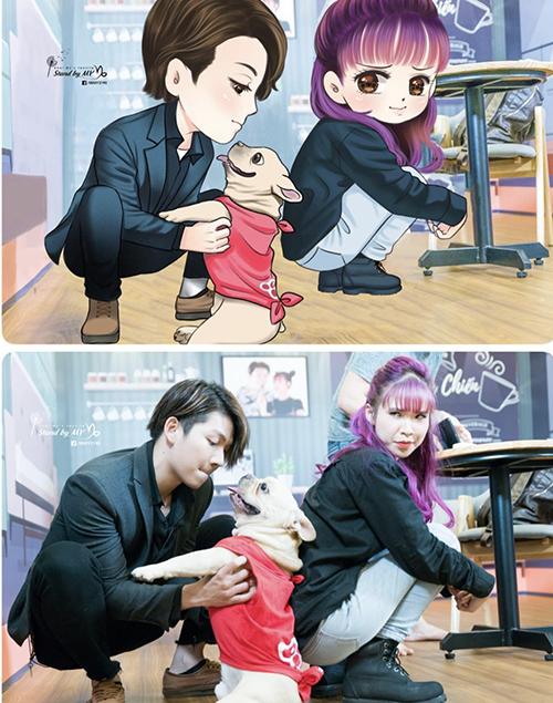Chú cún cưng được Khởi My - Kelvin Khánh yêu thương như con - 7