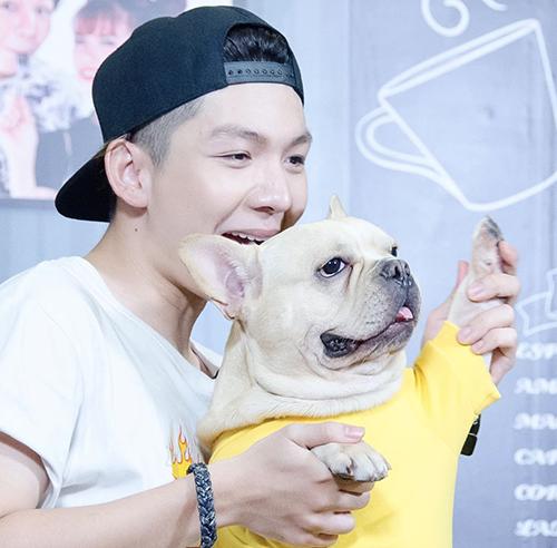 Chú cún cưng được Khởi My - Kelvin Khánh yêu thương như con - 4