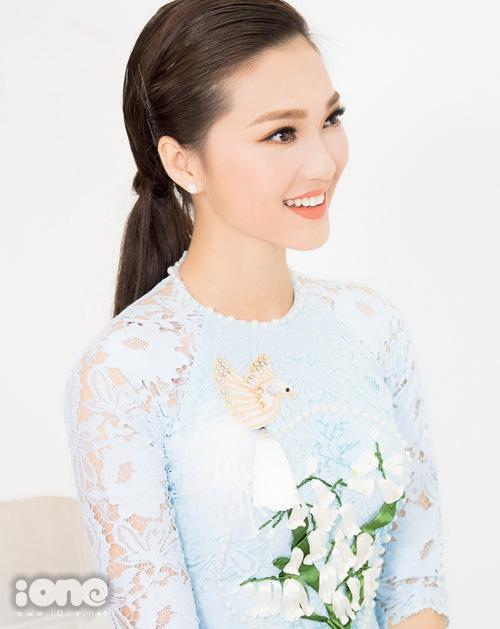 Ngọc Nữ của Hoa hậu Hoàn vũ Việt Nam: Đi thi sắc đẹp là để đổi đời - 2