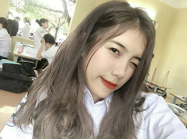 Vẻ xinh đẹp của nữ sinh cấp 3 Vũ Phương Thảo.