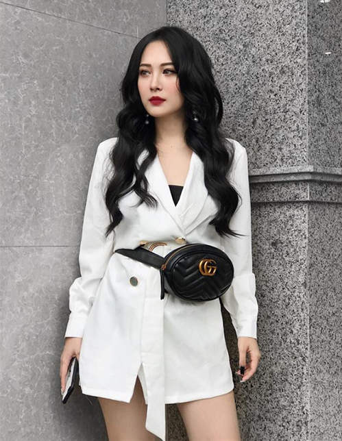 Em họ Hương Tràm xinh hơn hot girl, mặc đồ chất miễn bàn - 4