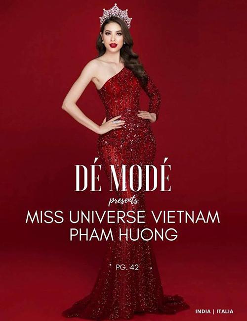 Vừa được tạp chí Ý quan tâm, Phạm Hương tung bộ ảnh đẹp tựa nữ thần - 3