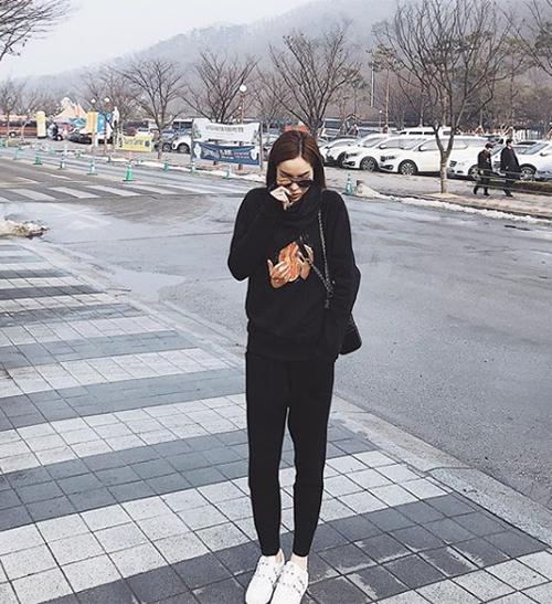 Kỳ Duyên mang cả tủ quần áo tiền tỷ cho một chuyến du lịch Hàn Quốc - 3