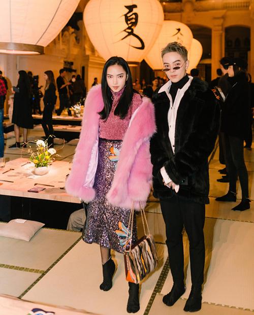 Châu Bùi, Kelbin Lei nổi bật giữa dàn fashionista thế giới ở Paris