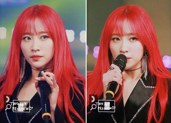 Dàn idol đẹp hút hồn như nàng tiên cá nhờ màu tóc đỏ rực