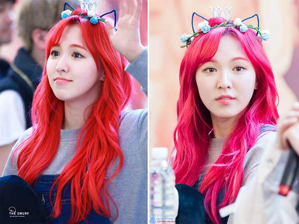 Dàn idol đẹp hút hồn như nàng tiên cá nhờ màu tóc đỏ rực - 1