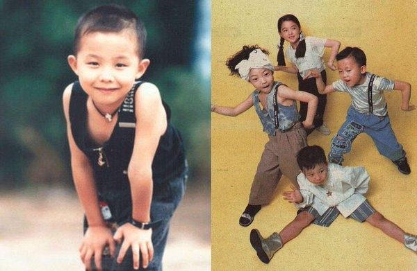 G-Dragon hồi nhỏ và hình ảnh trong nhóm nhạc Little Roora.