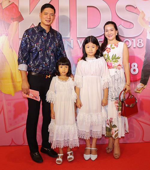Loạt sao Việt dẫn con cưng lên thảm đỏ