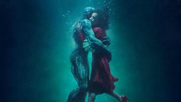 The shape of water - bộ phim nhiều tranh cãi về tình yêu giữa người và thủy quái giành Oscar