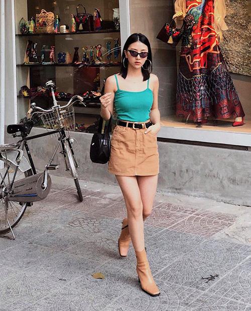 Quỳnh Anh Shyn mặc đẹp quanh năm chỉ nhờ một lố áo hai dây đủ màu - 3