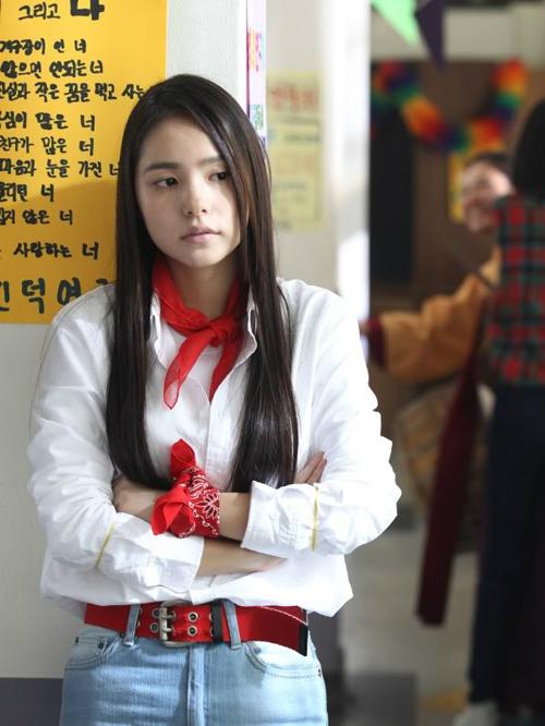 Nàng hotgirl Jung Soo Ji một thời trongSunny.