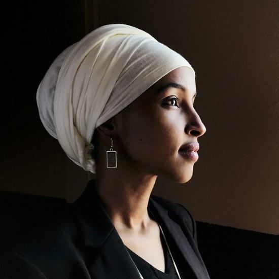 Ilhan Omar - Người Mỹ gốc Somali đầu tiên trở thành nghị sĩ.