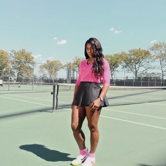 Serena Williams - Người phụ nữ đầu tiên chơi tennis chiến thắng 23 lần giải đơn Grand Slam.