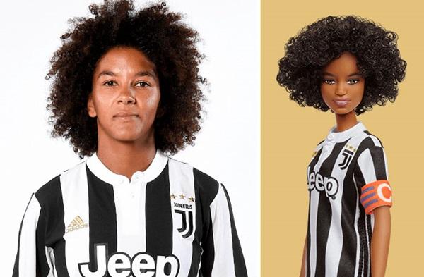 Cầu thủ bóng đá Sara Gama.