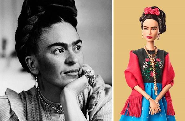 Nghệ sĩ Frida Kahlo và nhà hoạt động nổi tiếng người Mehico.