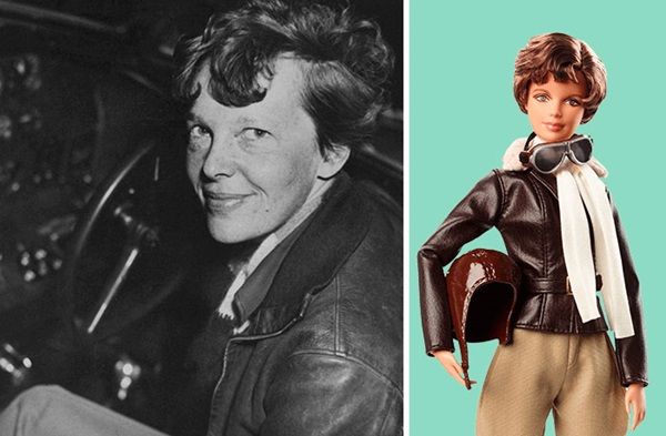 Amelia Earhart, người phụ nữ đầu tiên bay qua Đại Tây Dương.