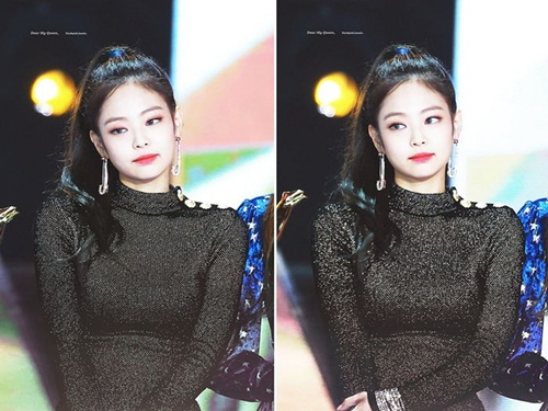 Những style buộc tóc vừa cute, vừa ngầu của Jennie (Black Pink) - 1