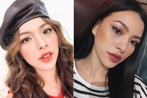 Hot girl Việt biến hình khi trang điểm kiểu Hàn và kiểu Mỹ - 1