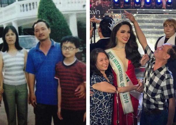 Bức ảnh ngày ấy- bây giờ của Hương Giang chia sẻ gây sốt sau đăng quang.
