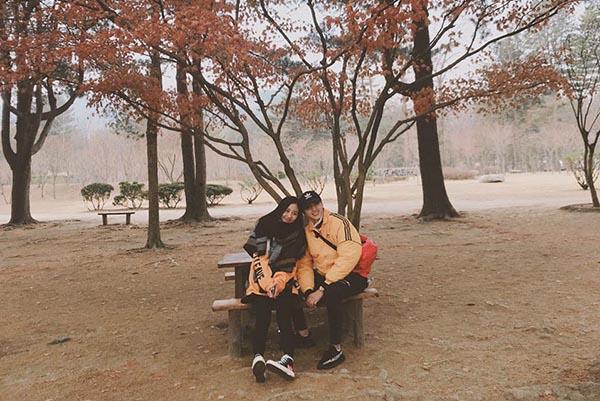 Văn Mai Hương - Bình An đi dạo Hàn Quốc tình tứ như phim - 1