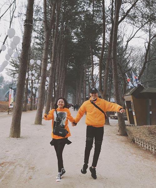 Văn Mai Hương - Bình An đi dạo Hàn Quốc tình tứ như phim - 2
