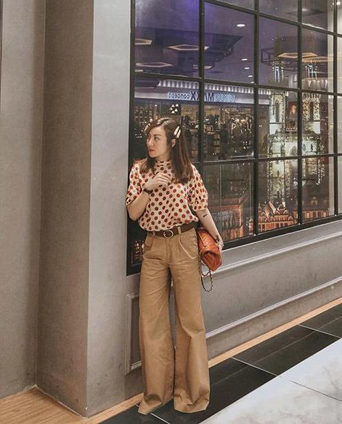 Street style long lanh ngày giao mùa của sao, hot girl Việt - 1