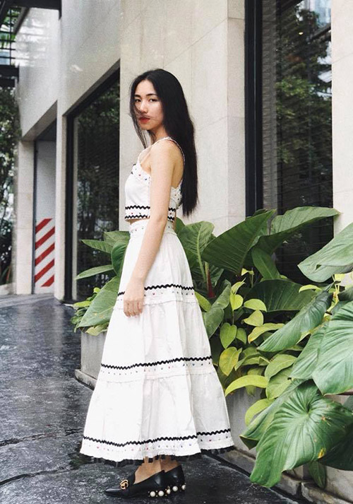 Street style long lanh ngày giao mùa của sao, hot girl Việt - 5