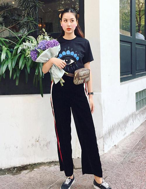 Street style long lanh ngày giao mùa của sao, hot girl Việt - 7